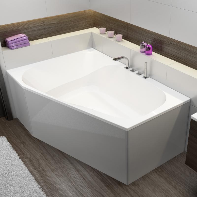 hoesch spectra trapez badewanne reuter. Black Bedroom Furniture Sets. Home Design Ideas