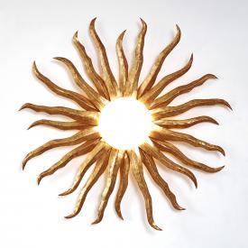 Holländer Sonne Gigante Vetro Wandleuchte