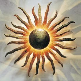 Holländer Sonne Grande Wandleuchte