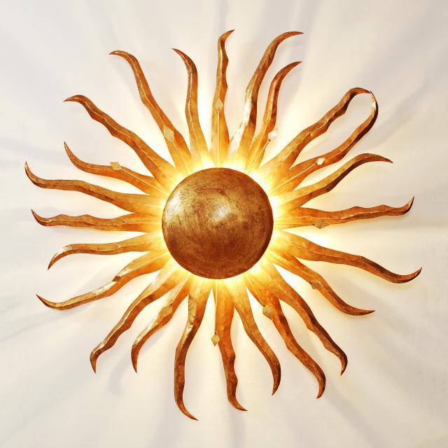 HOLLÄNDER Sonne Gigante Wandleuchte