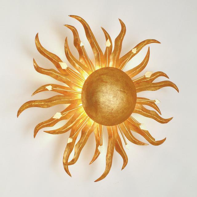 HOLLÄNDER Sonne Piccola Wandleuchte