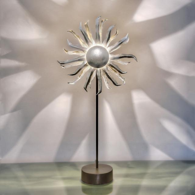 HOLLÄNDER Sonne Tischleuchte mit Dimmer