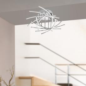 Fischer & Honsel Cross LED Deckenleuchte 10-flammig