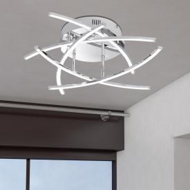 Fischer & Honsel Cross LED Deckenleuchte 5-flammig
