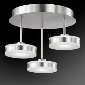 Fischer & Honsel Puk LED Deckenleuchte 3-flammig