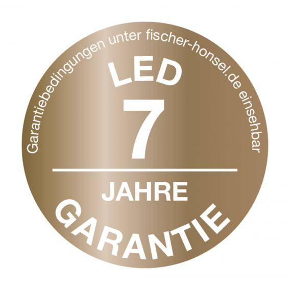 Fischer & Honsel Mainz LED Wandleuchte mit Ein-/Ausschalter, rund
