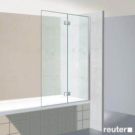 Reuter Kollektion Premium Badewannenaufsatz, 2-teilig