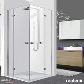 Reuter Kollektion Premium Eckeinstieg 100 x 80, Tür 55 cm