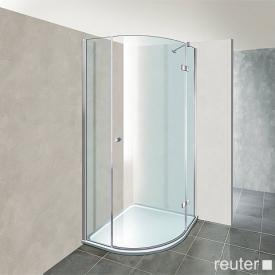 Reuter Kollektion Premium Viertelkreis mit 1 Drehtür 80 x 80, Radius 55 cm
