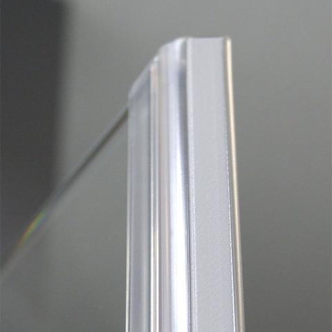 Reuter Kollektion Premium rahmenlos Fünfeck mit 1 Drehtür