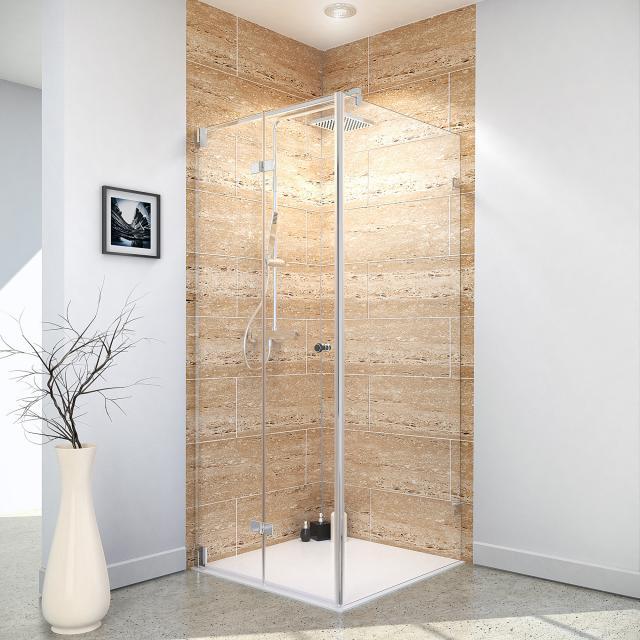 Reuter Kollektion Premium Free Dreh-/Falttür mit Seitenwand