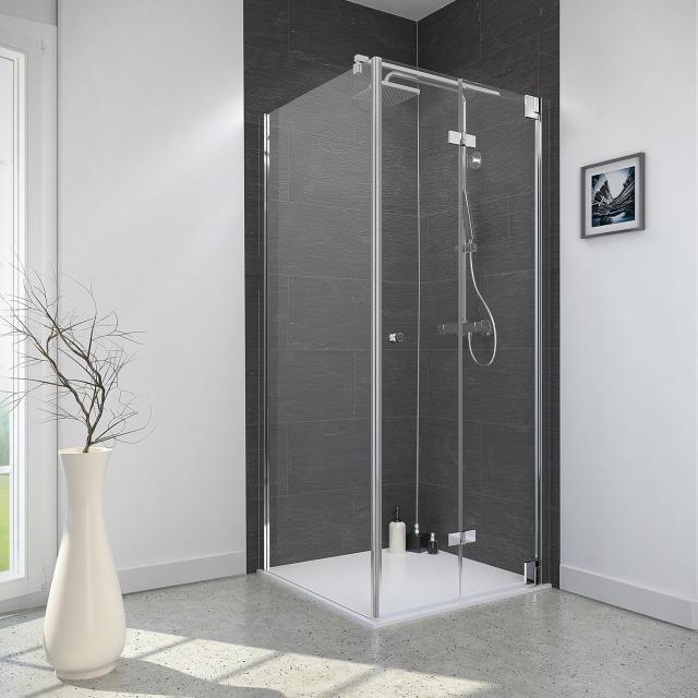 Reuter Kollektion Style Dreh-/Falttür mit Seitenwand