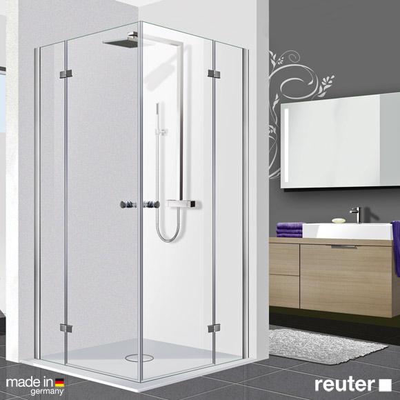 Fantastisch Reuter Kollektion Premium Eckeinstieg 90 x 90, Tür 55 cm - ZRB2  JE27