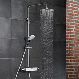 HSK AquaSwitch RS 200 Thermostat Shower-Set mit Kopfbrause Ø 300 H: 2 mm schwarz