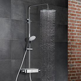HSK AquaSwitch RS 200 Thermostat Shower-Set mit Kopfbrause Ø 400 H: 2 mm weiß