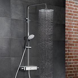 HSK AquaSwitch RS 200 Thermostat Shower-Set mit Kopfbrause Ø 400 mm, weiß