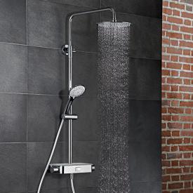 HSK AquaSwitch RS 200 Thermostat Shower-Set mit Kopfbrause super-flach weiß