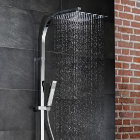 HSK AquaSwitch RS 500 Thermostat Shower-Set mit Kopfbrause super-flach weiß