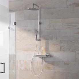 HSK AquaTray RS 200 Duschsystem mit Thermostat und Kopfbrause Ø 250 mm