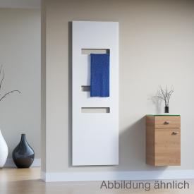 HSK Atelier Highline Badheizkörper Metallfront, weiß matt