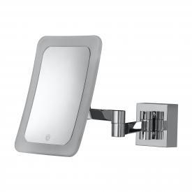 HSK LED Wand-Kosmetikspiegel mit Sensor-Schalter, Direktanschluss, 5-fache Vergrößerung
