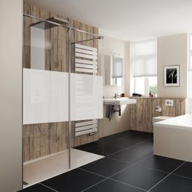 duschwand kunststoff. Black Bedroom Furniture Sets. Home Design Ideas