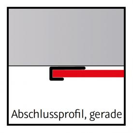 HSK RenoDeco Abschlussprofil, gerade