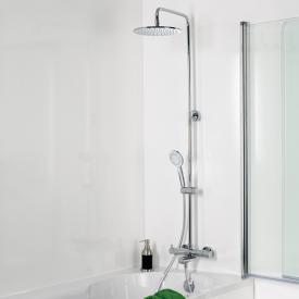 HSK RS 200 Shower-Set für Badewannen mit Kopfbrause Ø 250 mm