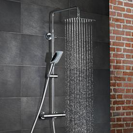 HSK RS Softcube Shower-Set mit Kopfbrause B: 400 T: 250 mm, Thermostat mit SafeTouch