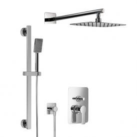 HSK Softcube Shower Set 2.25 mit Kopfbrause B: 550 H: 2 T: 350 mm, mit geradem Wandarm