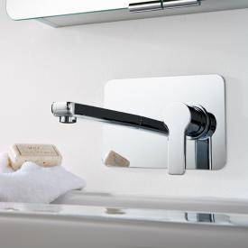 HSK Softcube Unterputz-Waschtisch-Einhebelmischer Ausladung: 200 mm chrom
