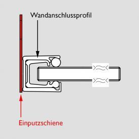 HSK Wandanschlussprofil, einzeln