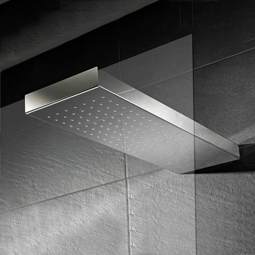 HSK Lavida Regentraverse B: 250 H: 32 T: 871-1010 mm für Glasaufnahme Walk In edelstahl optik