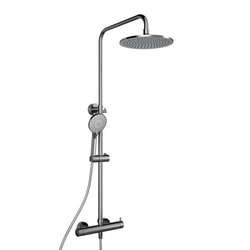 HSK RS 200 Mix Shower-Set, Kopfbrause flach Ø 250 mm