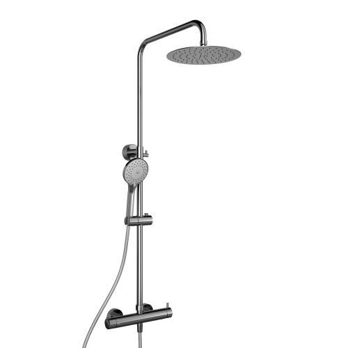 HSK RS 200 Mix Shower-Set, Kopfbrause super-flach Ø 250 mm