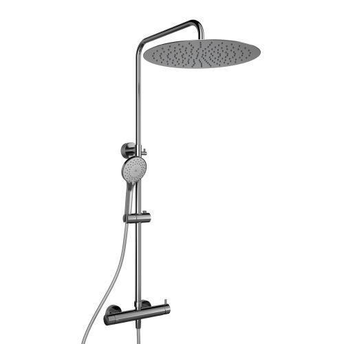 HSK RS 200 Mix Shower-Set, Kopfbrause super-flach Ø 400 mm