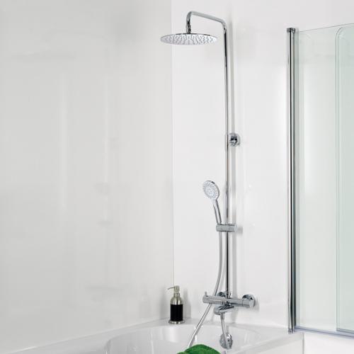 HSK RS 200 Thermostat für Badewanne Shower-Set H: 1750 mm, Kopfbrause Ø 250 H: 2 mm