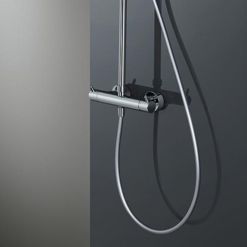 HSK RS 200 Thermostat Shower-Set H: 1365 mm, Kopfbrause Ø 300 H: 8 mm