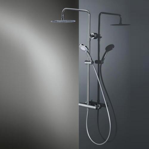 HSK RS 200 Thermostat Shower-Set H: 1365 mm, Kopfbrause Ø 400 H: 2 mm