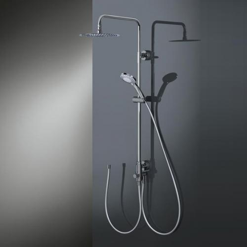 HSK RS 200 Universal Shower-Set H: 1335 mm, Kopfbrause Ø 250 H: 2 mm