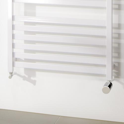 HSK Seitenanschluss Wand inkl. Design-Thermostatregler, Eckvariante
