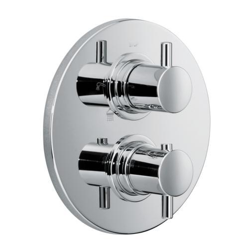 HSK Shower Set 1.05 mit Unterputz-Thermostat, Kopfbrause Ø 400 H: 8 mm