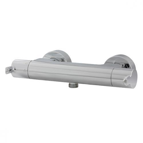HSK Softcube Aufputz-Sicherheits-Duschthermostat mit SafeTouch-Funktion