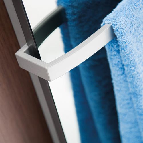 HSK Softcube Handtuchhalter B: 57 cm weiß matt