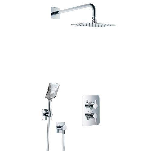 HSK Softcube Shower Set 2.04 mit Kopfbrause B: 400 H: 2 T: 250 mm