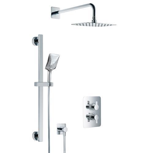 HSK Softcube Shower Set 2.05 mit Kopfbrause B: 400 H: 2 T: 250 mm