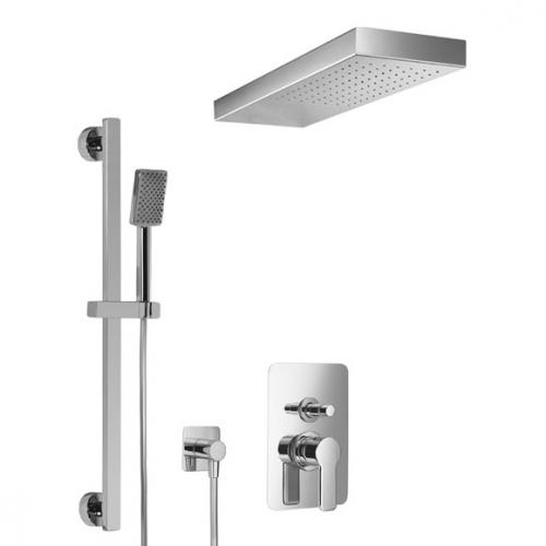 HSK Softcube Shower Set 2.25 mit freihängender Regentraverse Lavida B: 670 H: 32 T: 250 mm