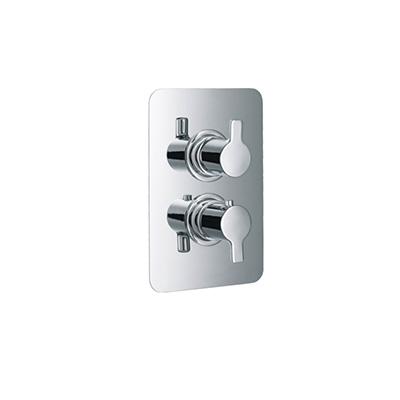 HSK Softcube UP-Sicherheits-Thermostat mit 3-Wege Umsteller chrom