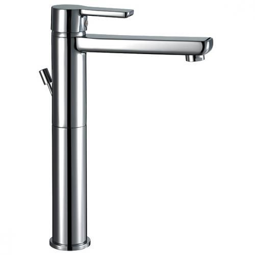 HSK Softcube Waschtisch-Einhebelmischer für freistehende Waschschüssel mit Ablaufgarnitur