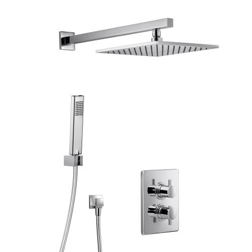 HSK Unterputz-Shower Set 3.04 Eckig